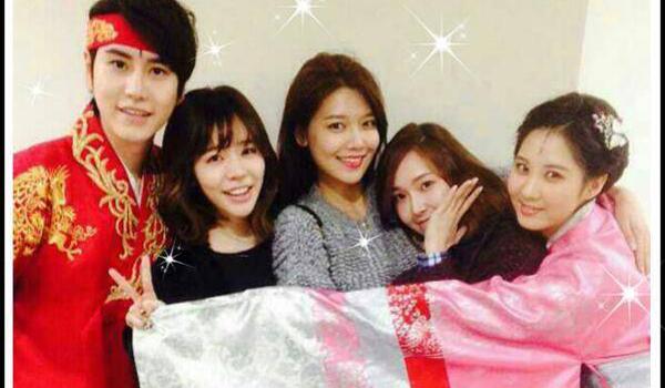 Girls Generation-Sooyoung-Jessica-Sunny-Seohyun-Super-Junior-Kyuhyun-2
