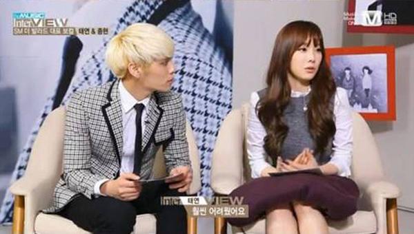 จงฮยอน SHINee เผยว่าเขาอิจฉาทักษะการร้องเพลงของแทยอน SNSD