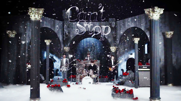 "[Live]CNBLUE คัมแบ็คด้วยเพลง ""Can't Stop"" ในรายการ M!Countdown"