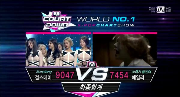 [Live]140206 ผู้ชนะในรายการ M!Countdown ได้แก่...Girl's Day!! + การแสดงวันนี้