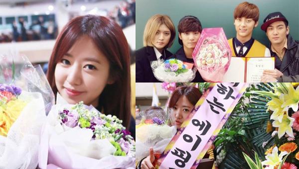 นัมจู A Pink, มินฮยอน Nu' Est และคนอื่นๆสำเร็จการศึกษาระดับมัธยมปลายแล้ว!!