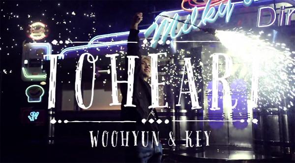 Toheart (คีย์ SHINee & อูฮยอน INFINITE) ปล่อยวิดีโอทีเซอร์สำหรับการเปิดตัวของพวกเขา