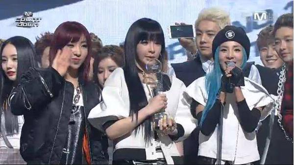 [Live]140327 ผู้ชนะในรายการ M!Countdown ได้แก่...2NE1!!! + การแสดงวันนี้
