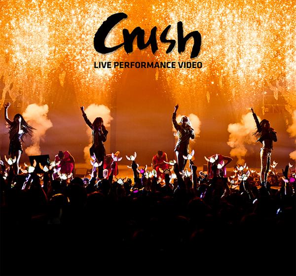 """มาแล้ว!!2NE1 ปล่อย Live Performance Video สำหรับเพลง """"CRUSH""""!!"""