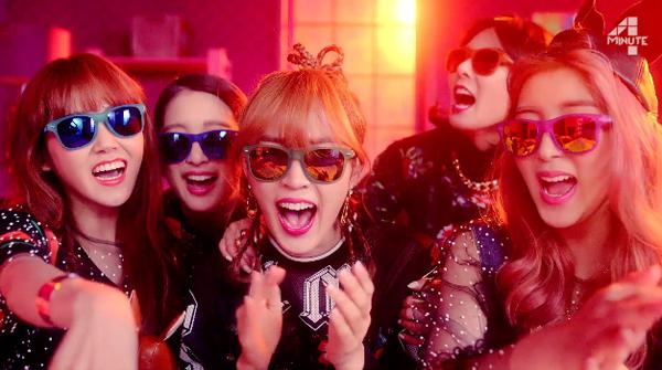"""มาแล้ว!!4Minute ปล่อย MV ทีเซอร์สำหรับการคัมแบ็คด้วยเพลง """"Whatcha Doin' Today?"""""""
