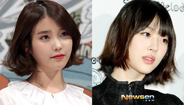 ไอยูชื่นชมซอลลี่ f(x) ว่าเป็นคนดังของเกาหลีที่สวยที่สุดในสายตาเธอ