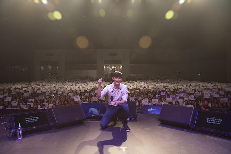 ฟินกันทั้งฮอลล์!!งานแฟนมีทครั้งแรกในไทยของคิมซูฮยอนสนุกสมกับที่รอคอย!!