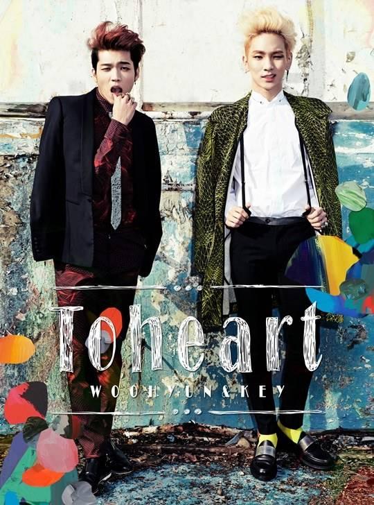 Toheart ยูนิตใหม่คีย์และอูฮยอนเปิดตัวมินิอัลบั้มแรกของพวกเขาแล้ว!