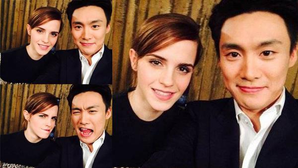 Oh Sang Jin-Emma Watson-1