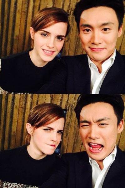Oh Sang Jin-Emma Watson