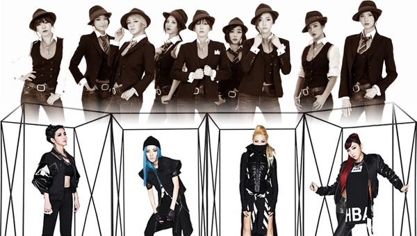 Girls' Generation เผยความคิดของพวกเธอเกี่ยวกับการโปรโมทพร้อมกันกับ 2NE1!!