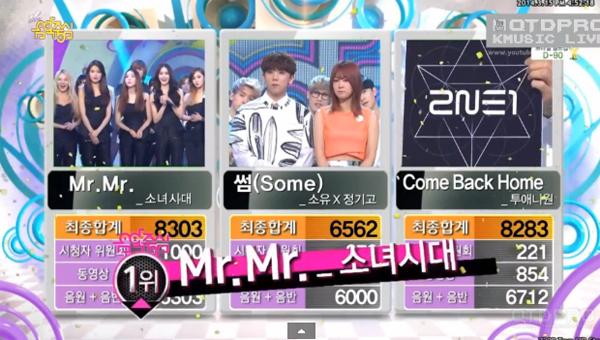 [Live]140315 ผู้ชนะในรายการ Music Core ได้แก่...Girls Generation!!! + การแสดงวันนี้