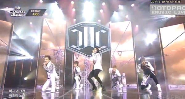 [Live]มาแล้ว!! JJCC วงน้องใหม่จากเฉินหลงเดบิวต์บนเวที M!Countdown