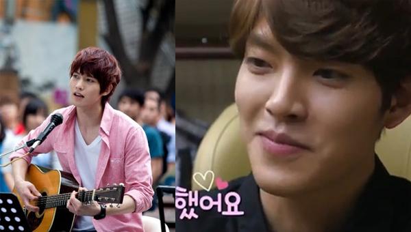 หะ!!คิมอูบินรู้สึกเหมือนกำลังตกหลุมรักเมื่อจงฮยอน CNBLUE ร้องเพลงให้เขา!!