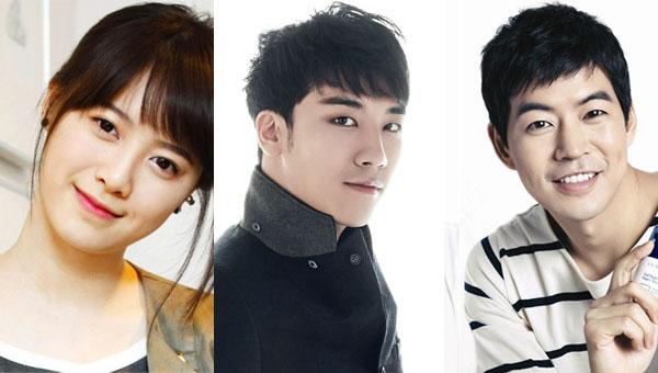 คูฮเยซอน,ซึงรี BIGBANG, อีซางยุนและคนอื่นๆอีกมากเข้าร่วมถ่ายทำรายการ 'Running Man'!!