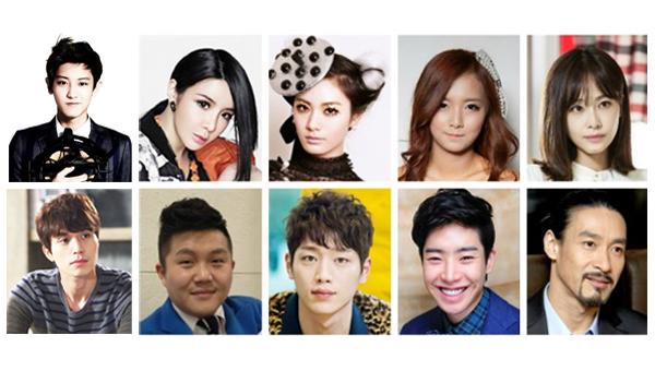 """ยืนยันแล้ว!!ชานยอล EXO, พัคบอม 2NE1, นานะ AS และอีก 7 คนเข้าร่วมวาไรตี้รายการใหม่ """"Roommate"""""""