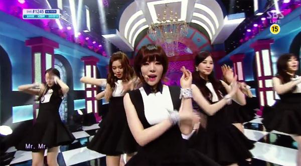 "[Live]Girls Generation คัมแบ็คในรายการ Inkigayo ด้วยเพลง ""Back Hug"" + ""Mr.Mr"""
