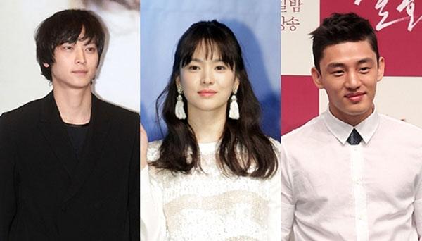 Kang Dong won-SOng Hye Kyo-Yoo Ah In