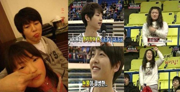 ภาพในอดีตของซงจุงกิและน้องสาวของเขากำลังกลายเป็นประเด็นร้อน