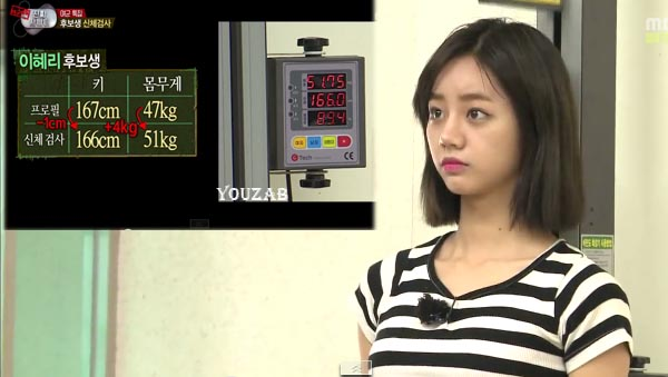 Hyeri-Weight-Height
