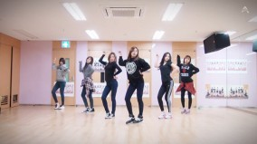 apink_LUV_dance practice