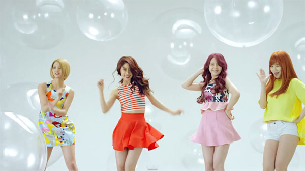girls day_mv_hello bubble