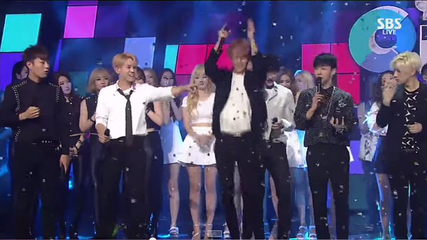 B2ST-Win-Inkigayo-2
