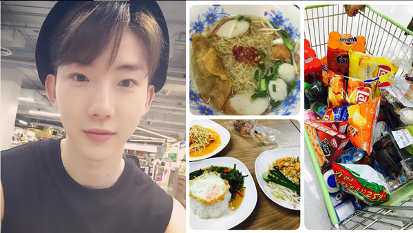 Jokwon loves Thai food