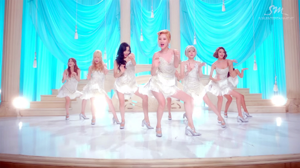 girls generation_mv_lion heart