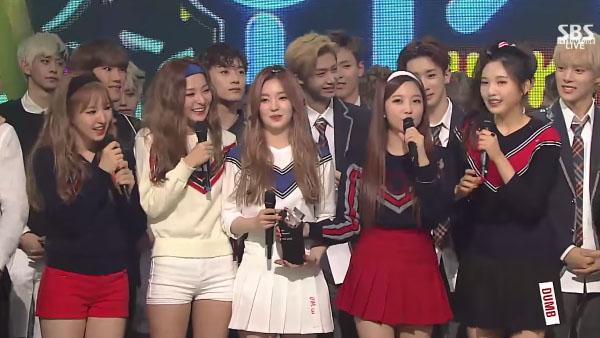 Red Velvet-today winner-inkigayo-2