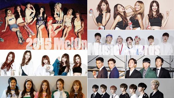 2015 melon music awards-confirm-line up