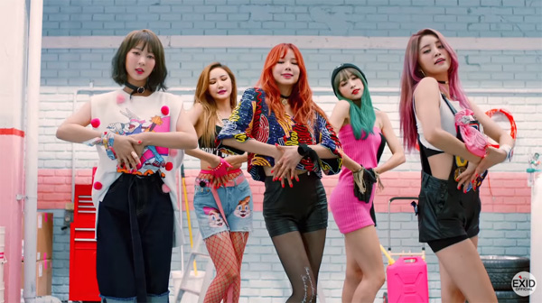 EXID-Hot pink-MV-comeback-2015
