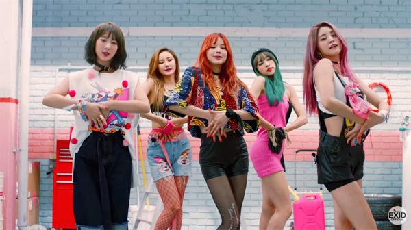 EXID-Hot pink-MV-comeback-2015