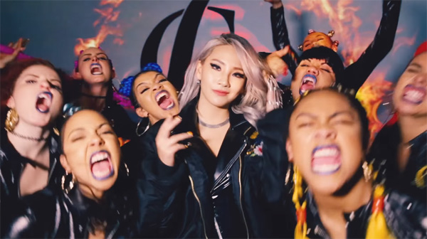 cl-dance performance video-hello bitches