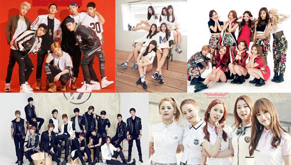 idol-new-boyband-girl group-2015