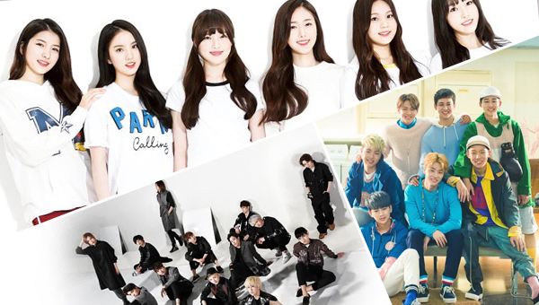 gfriend-ikon-seventeen-best rookie group-2015