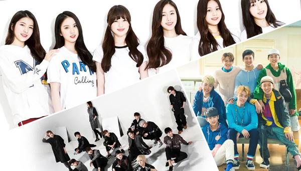 gfriend-ikon-seventeen-best rookie group-2015