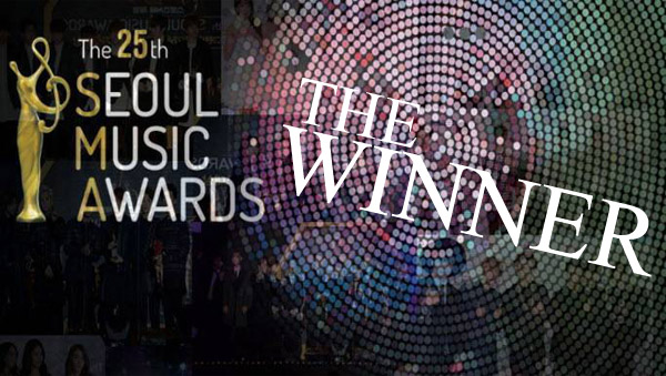 25th seoul music awards-winner
