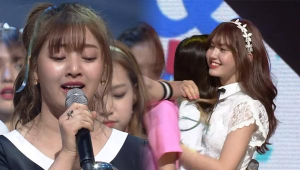 TWICE-1st win_somi_congrat