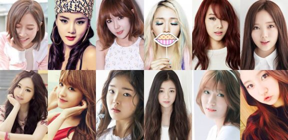 12 girl group-kpop-compete