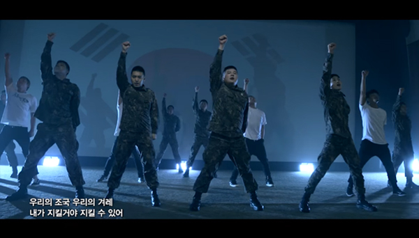 Yunho-Eunhyuk-Shindong-Sungmin-army mv