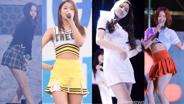 idol-girl group-short-skirt
