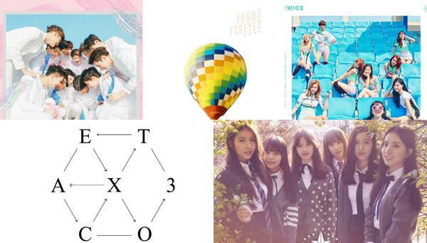 SEVENTEEN-BTS-TWICE-EXO-GFRIEND