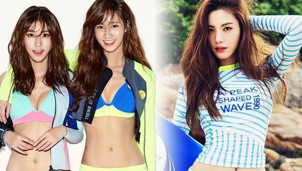 idol-sexy-hot-summer-rash guard