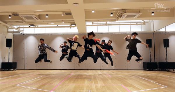 nct 127-fire truck-dance practice