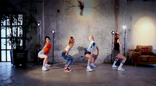 wonder girls-dance practice-why so lonely