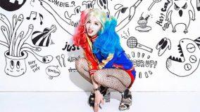 TWICE-Sana-harley quinn