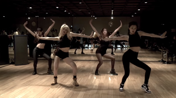 blackpink-dance practice-5m-view
